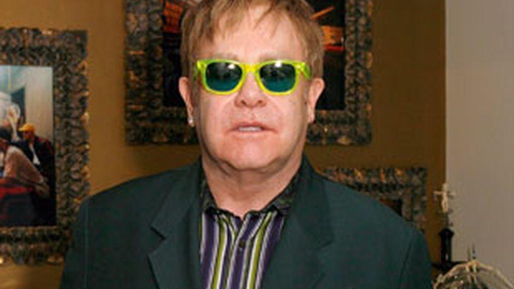 Elton John en una imagen de archivo. Foto: GTres