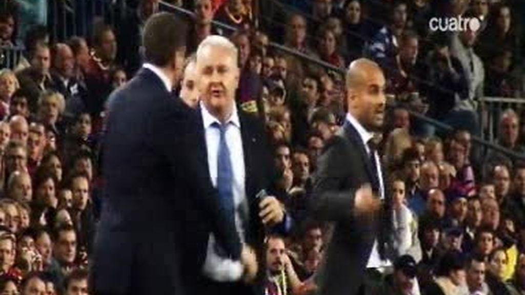 El pique entre Guardiola y Garrido
