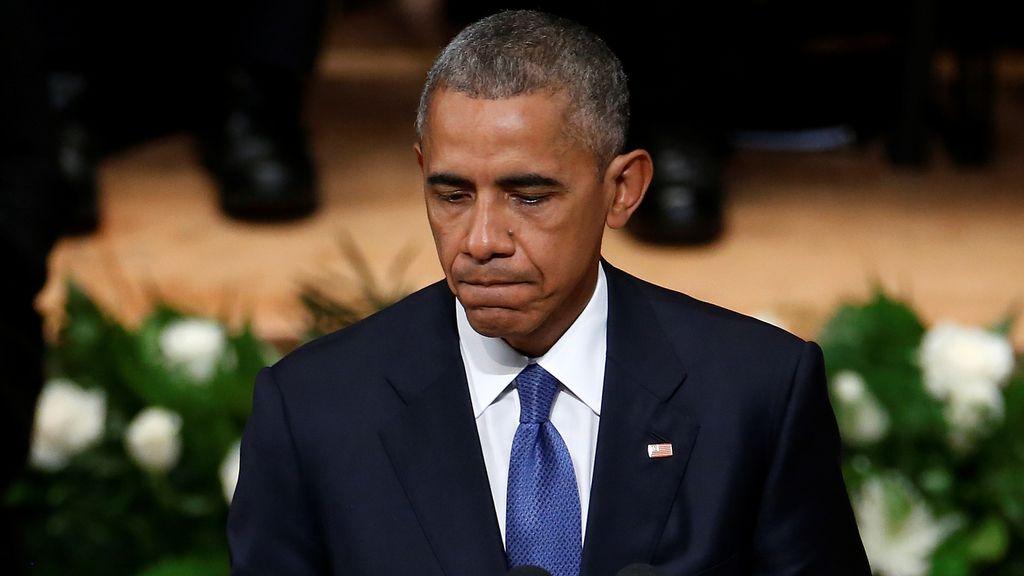 """Obama desde Dallas: """"No estamos tan divididos como parece"""""""