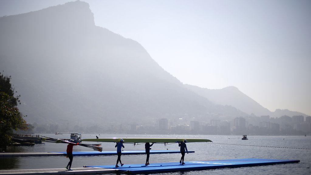 Atletas se preparan para las Olimpiadas (26/07/2016)