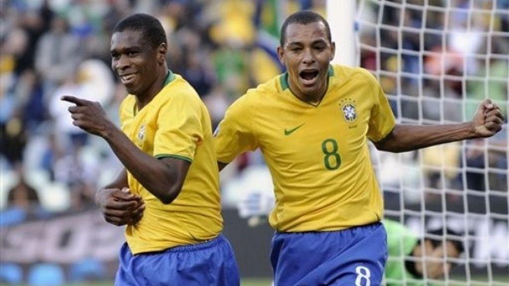 Brasil-Egipto, en imágenes