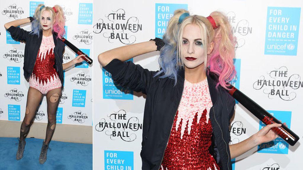 Poppy Delavingne como 'Harley Quinn' del 'Escuadrón Suicida'