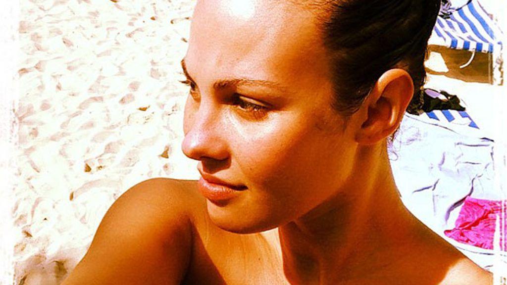 Una radiante Jessica Bueno