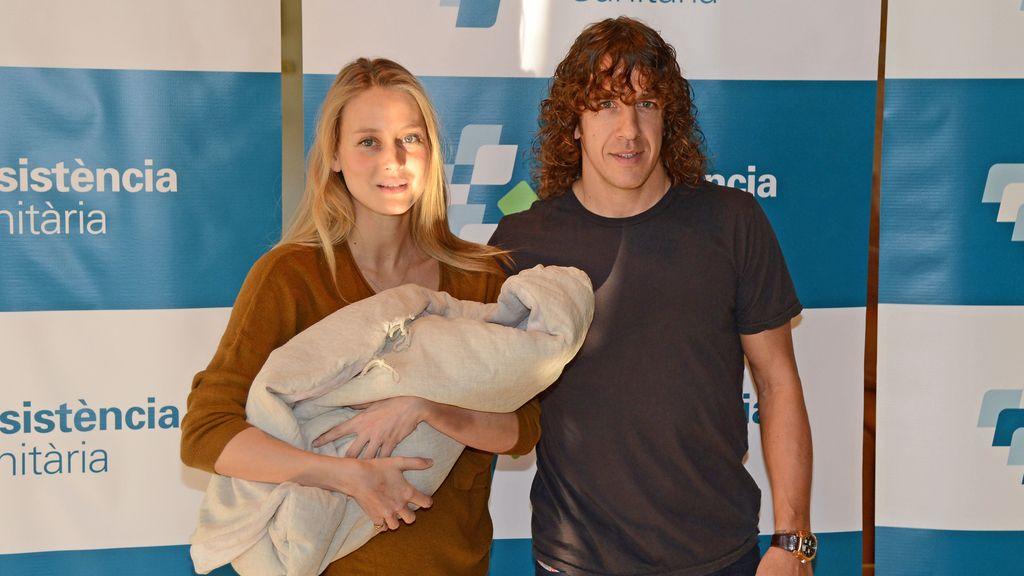 Puyol y Vanesa Lorenzo presentan a Manuela