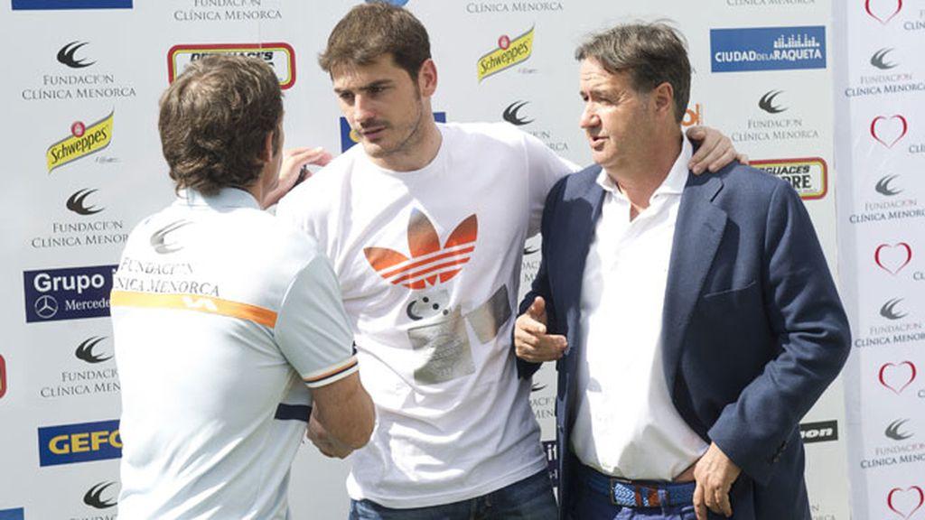 Iker Casillas tampoco quiso perderse el torneo