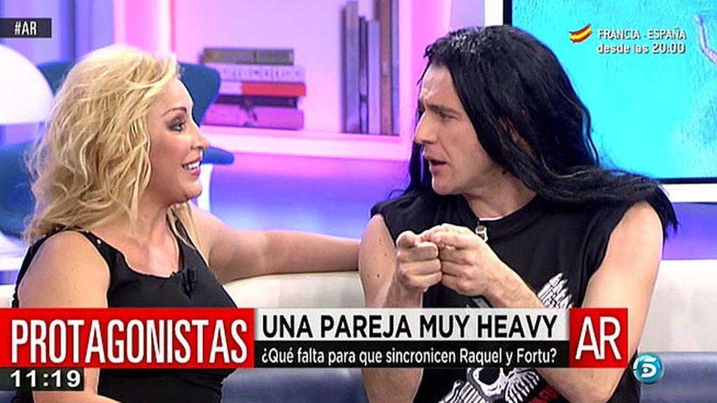 Raquel Mosquera ha negado que mantenga una relación con Fortu