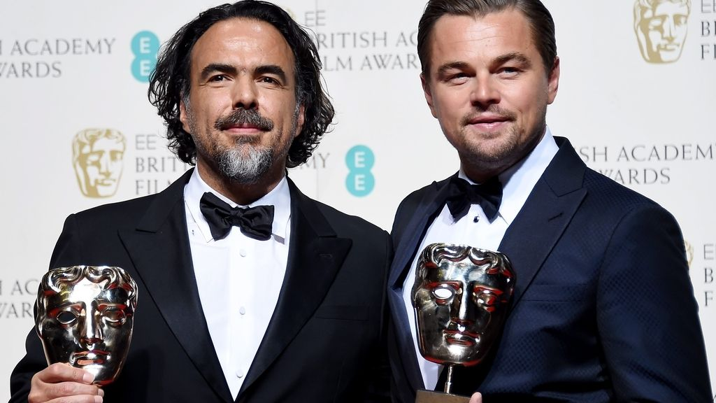 Alejandro González Iñarritu y Leonardo DiCaprio
