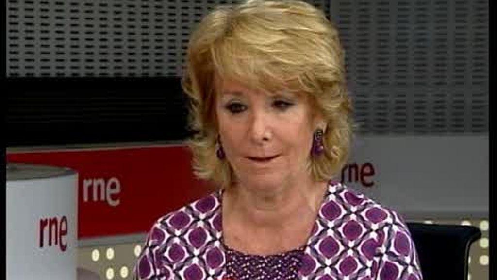 Aguirre aconseja a Gallardón que venda edificios públicos