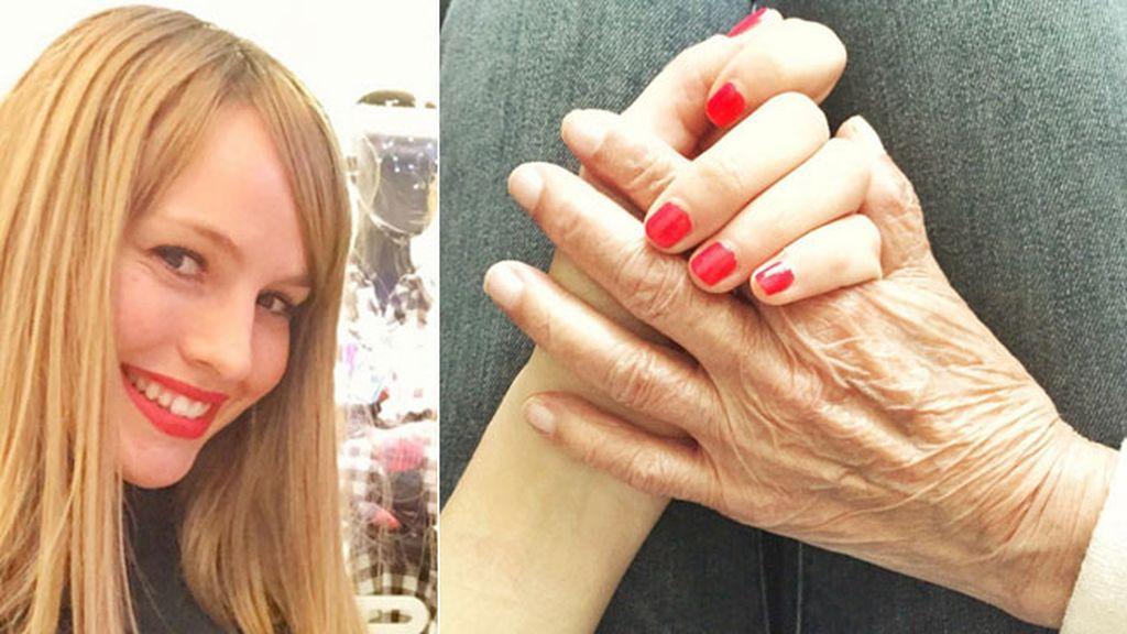 """Esmeralda Moya: """"Estas manos entienden de trabajo, de esfuerzo"""""""