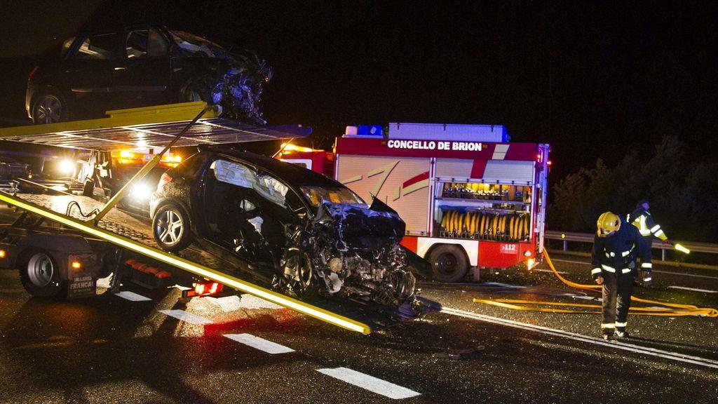 Accidente de tráfico en La Coruña