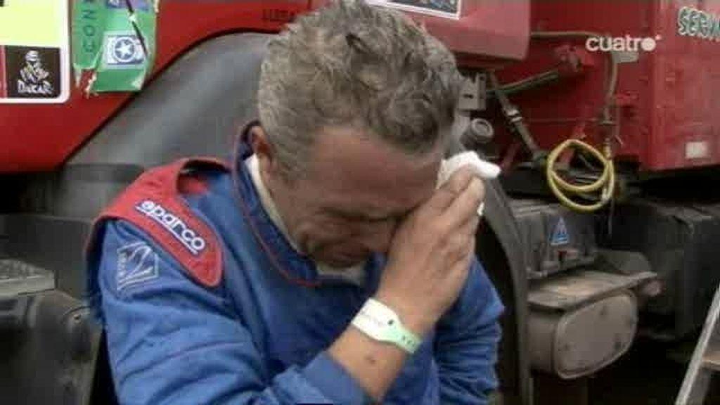 Las lágrimas del Dakar 2011