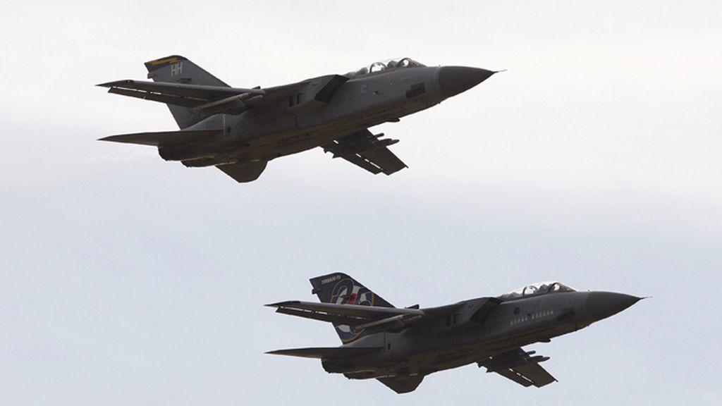 Aviones de combate Tornado de la RAF
