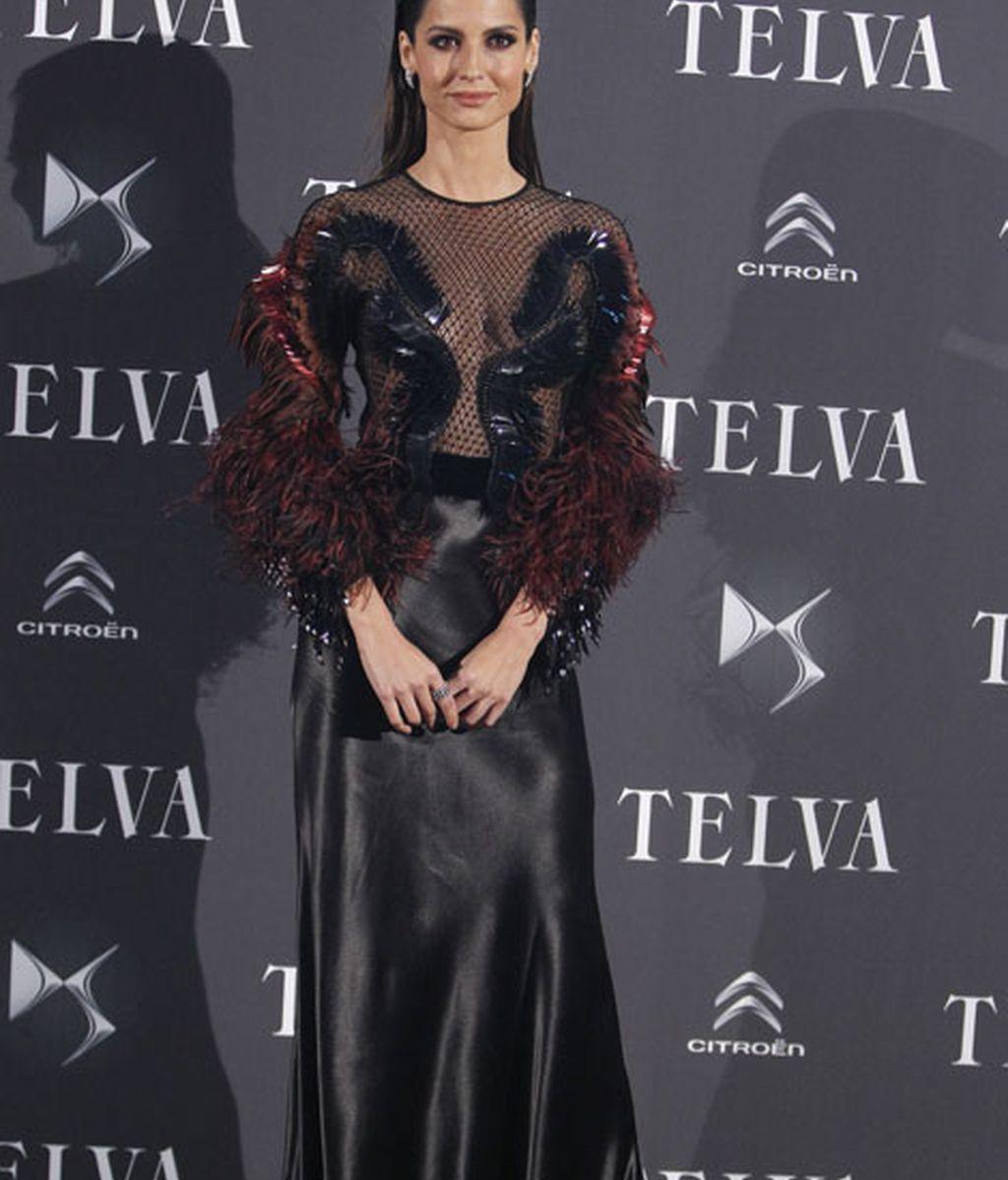 La modelo Ariadne Artiles, con un arriesgado diseño de Gucci