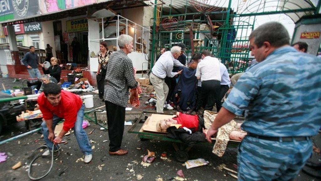 Masacre en Osetia del Norte