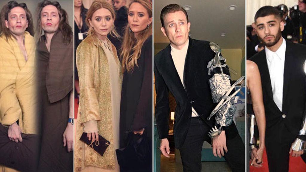 Tom Lenk se convierte en las gemelas Olsen y Zayn Malik