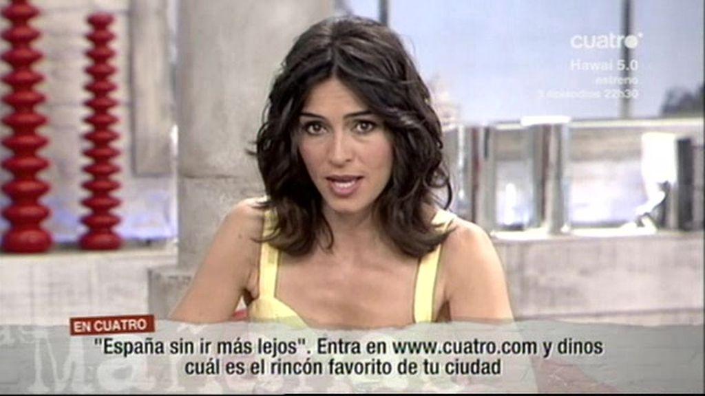 Marta Fernández, por el turismo español