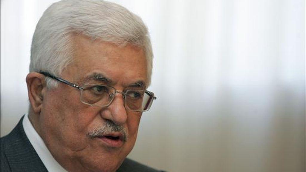 El presidente de la Autoridad Nacional de Palestina (ANP), Mahmud Abas. EFE/Archivo