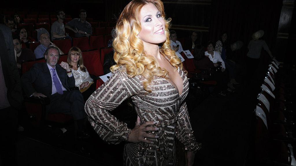 La cantante y bailarina Lara Sajen, que debuta en la gran pantalla con esta película