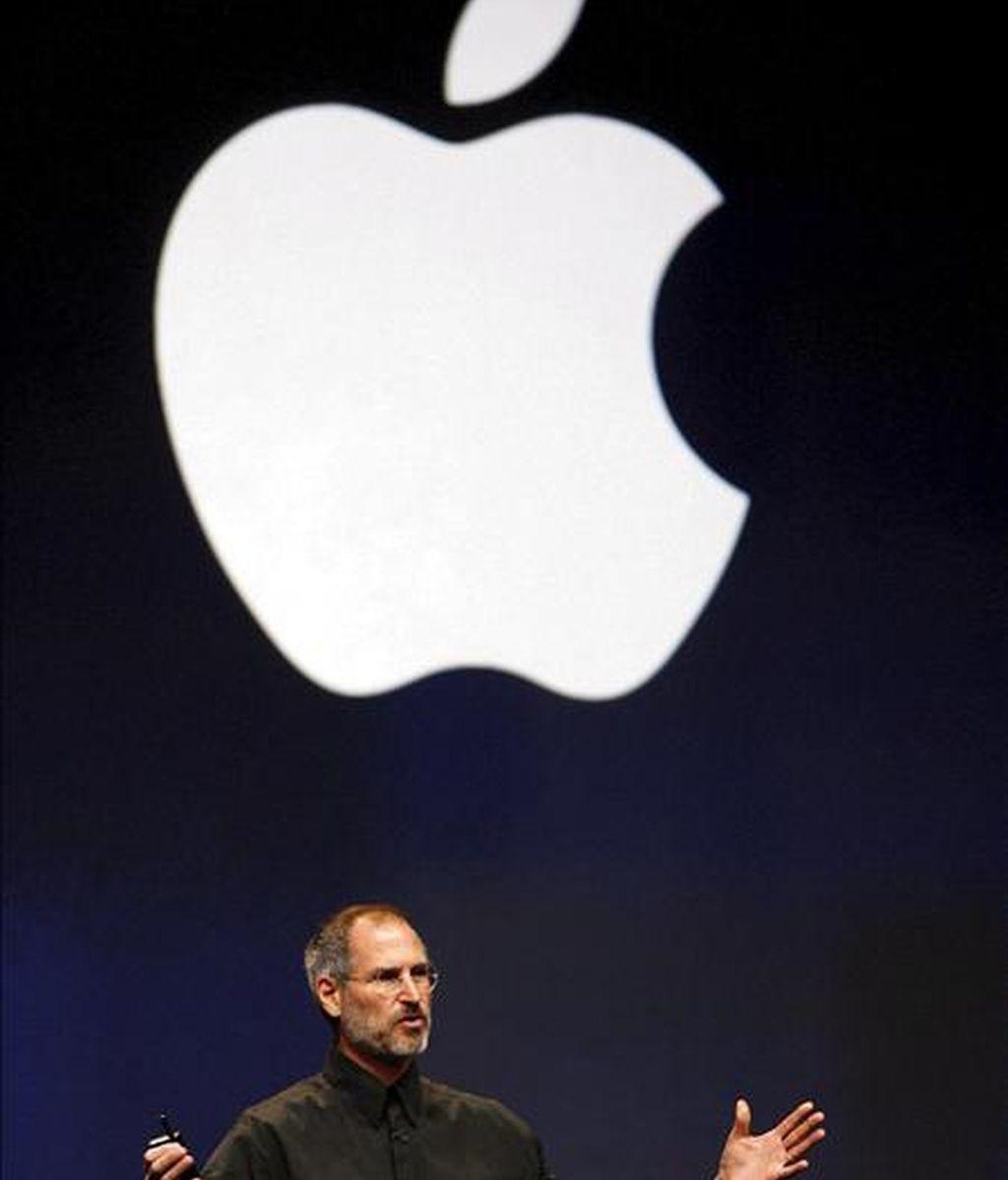 El presidente y cofundador de la empresa Apple, Steve Paul Jobs. EFE/Archivo