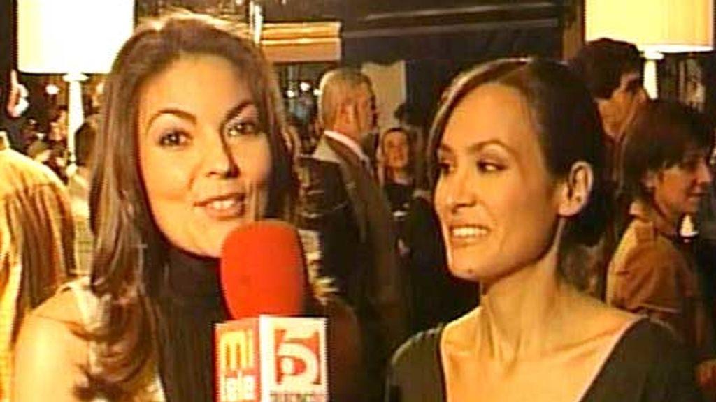 Sandra y Vanesa, nuestras reporteras