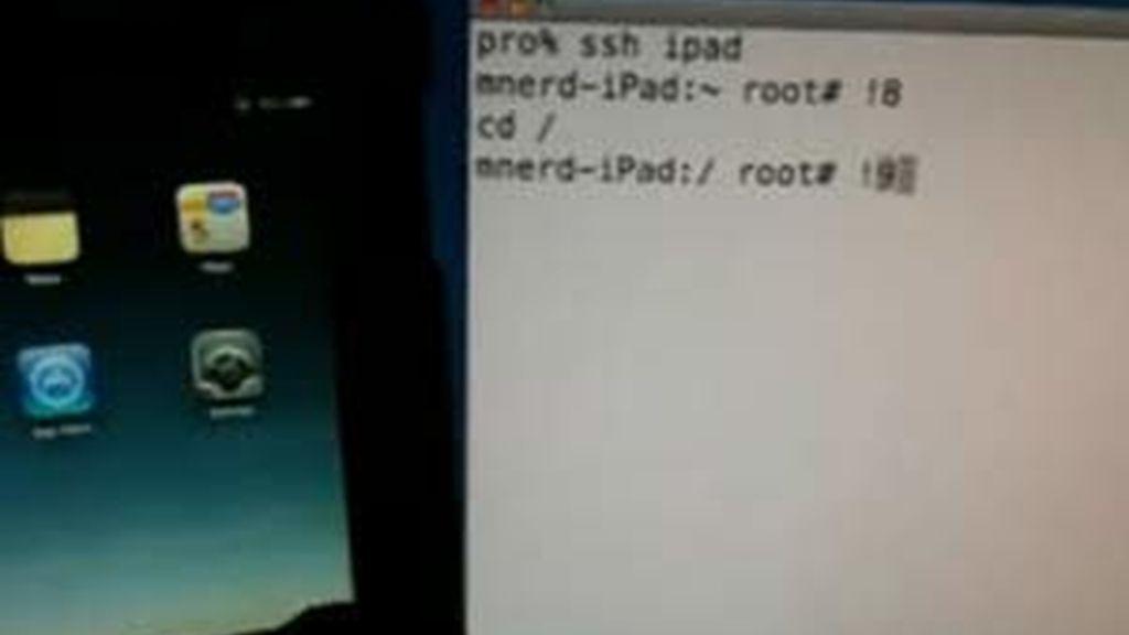El pirata ha colgado en Internet el vídeo de su 'proeza'. Foto: Venturebeat.com