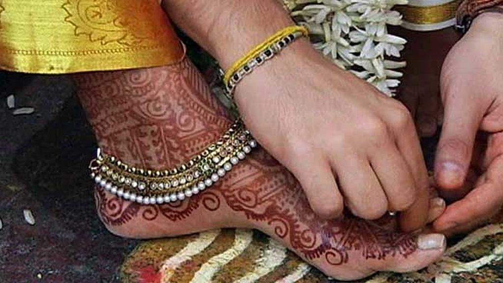 Vinatha y Diego viven en Madrid pero han decidido casarse en Chennai