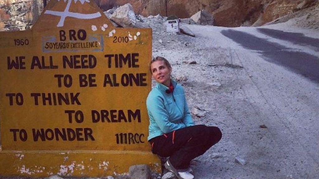 Elsa Pataky sigue disfrutando de su aventura por el Himalaya