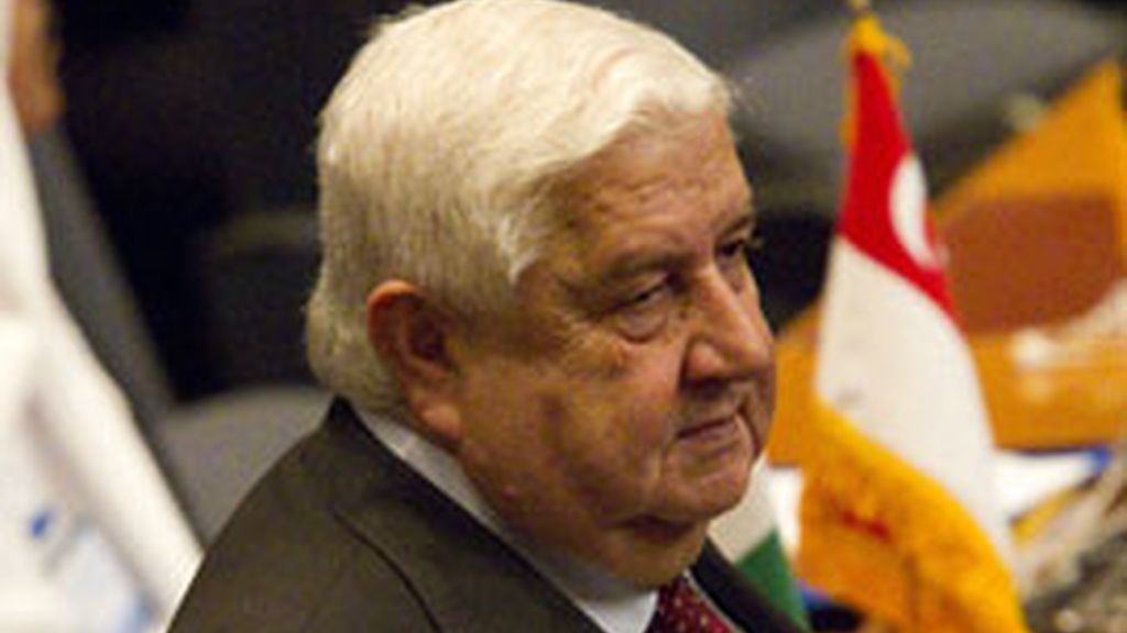 El ministro de Exteriores sirio anuncia que habrá elecciones anticipadas en el país. Foto: Reuters.