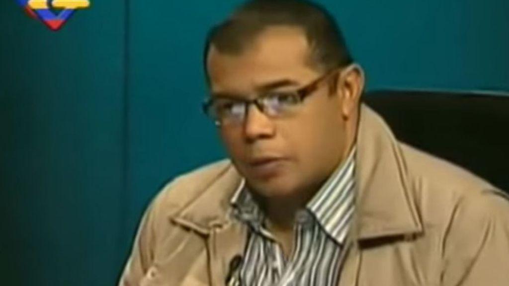 Ricardo Durán, jefe de prensa del Gobierno 'chavista'