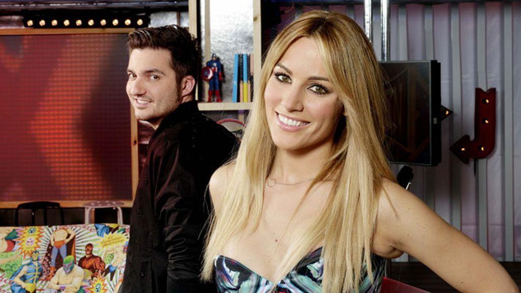 Xavi Rodríguez y Edurne, los presentadores