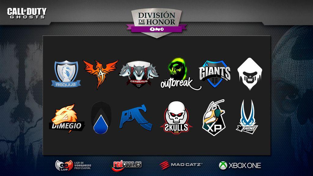 nuevo, equipos, División de Honor, Call of Duty, LVP, general, FF, eSports