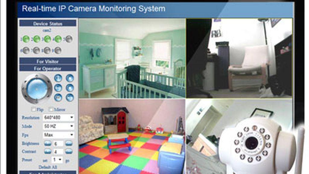 hacker,cámara vigilancia bebé,bebé,vigila bebé