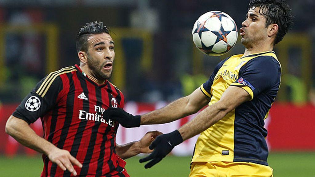 Diego Costa, ante el Milan