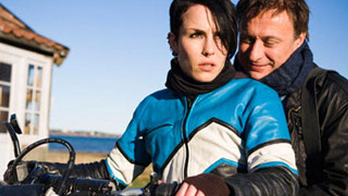 Un frame de una de las películas de Millennium rodadas en Suecia.