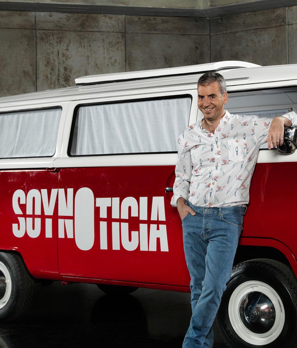 'Soy noticia': Nacho Medina persigue historias únicas en su furgoneta