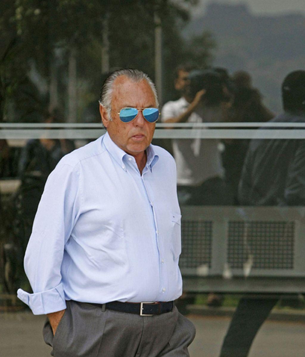 José Luis Rodríguez Cebrián, en la última despedida a Rosalía Mera
