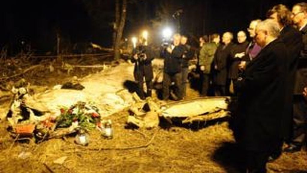 Los restos mortales del presidente de Polonia llegan a Varsovia. Vídeo: ATLAS