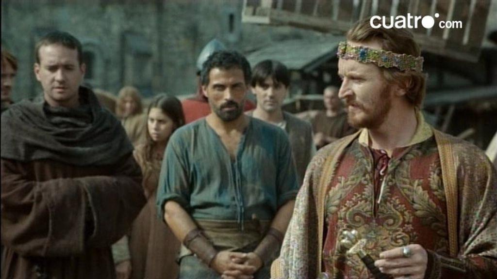 Capítulo 2: El rey llega a Kingsbridge