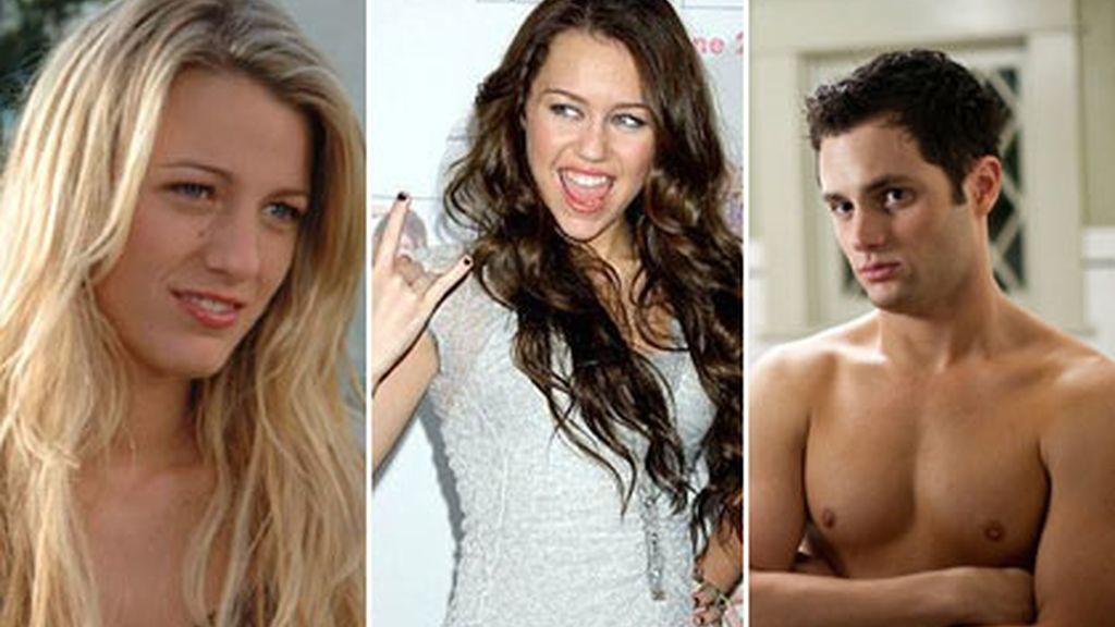"""Miley confiesa estar obsesionada con el actor después de haber visto la película """"El padrastro""""."""