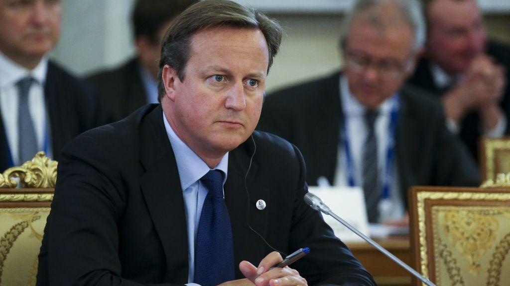 David Cameron en la cumbre del G-20