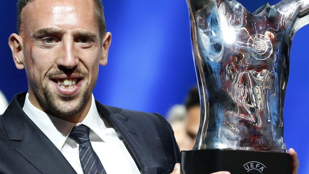 Ribéry, 'Mejor Jugador' de Europa