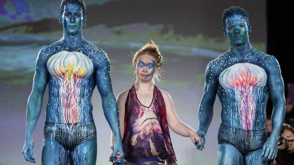Maddy, una modelo con síndrome de Down, debuta en la Semana de la Moda de Nueva York