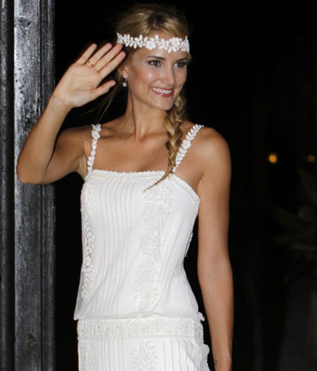 Cinco celebs, cinco estilos diferentes para llevar el accesorio de novia de tendencia: la corona de flores