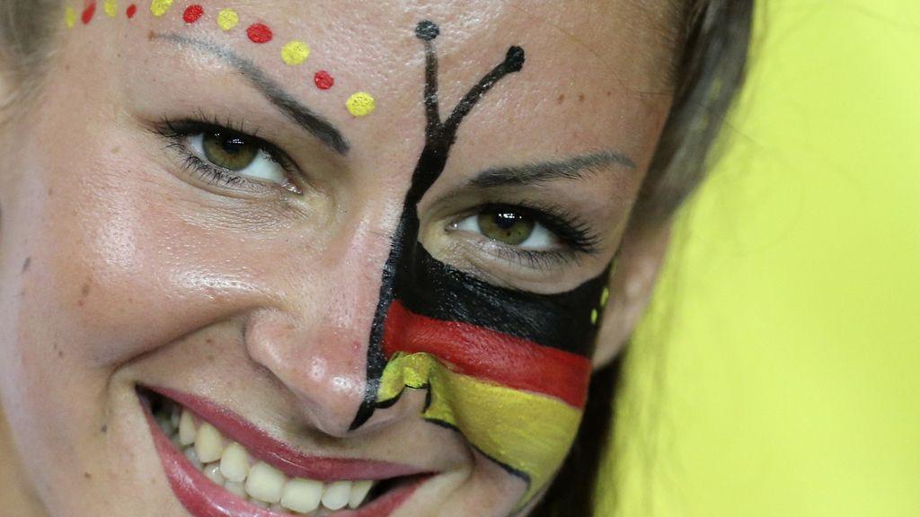 Las mejores fotos del Holanda - Alemania