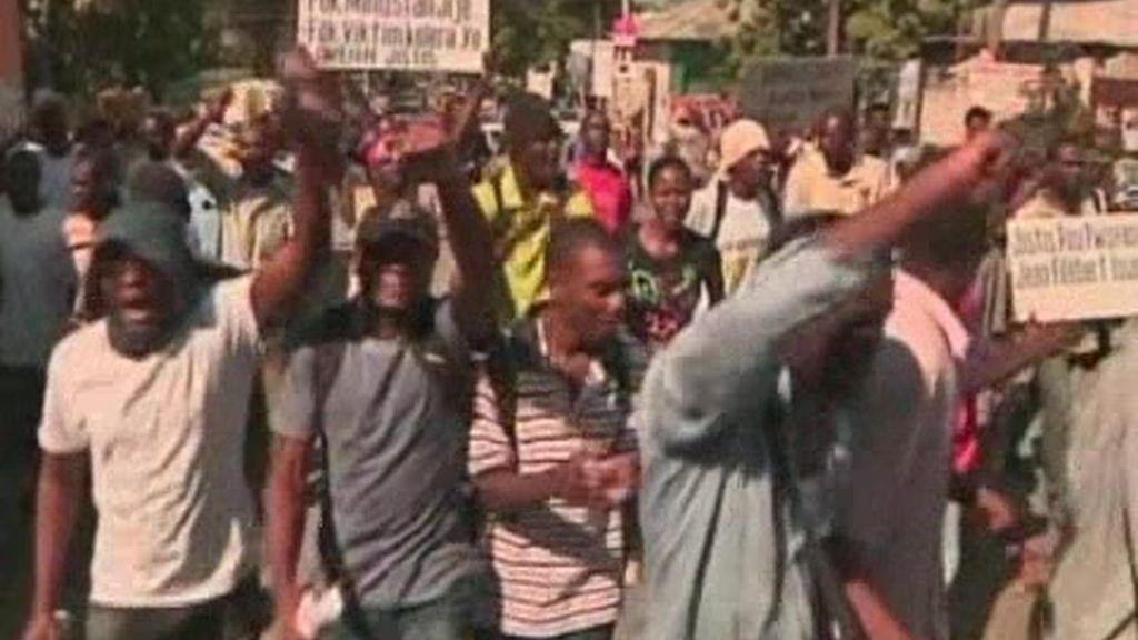 Haití hace frente al cólera y los disturbios