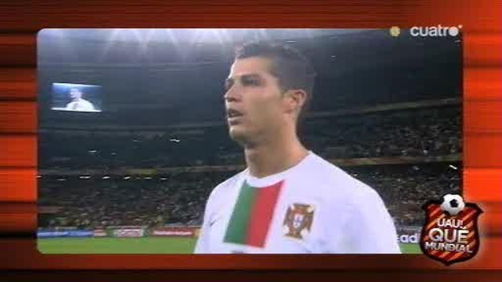 Las diferencias entre Villa y Cristiano Ronaldo en el España-Portugal