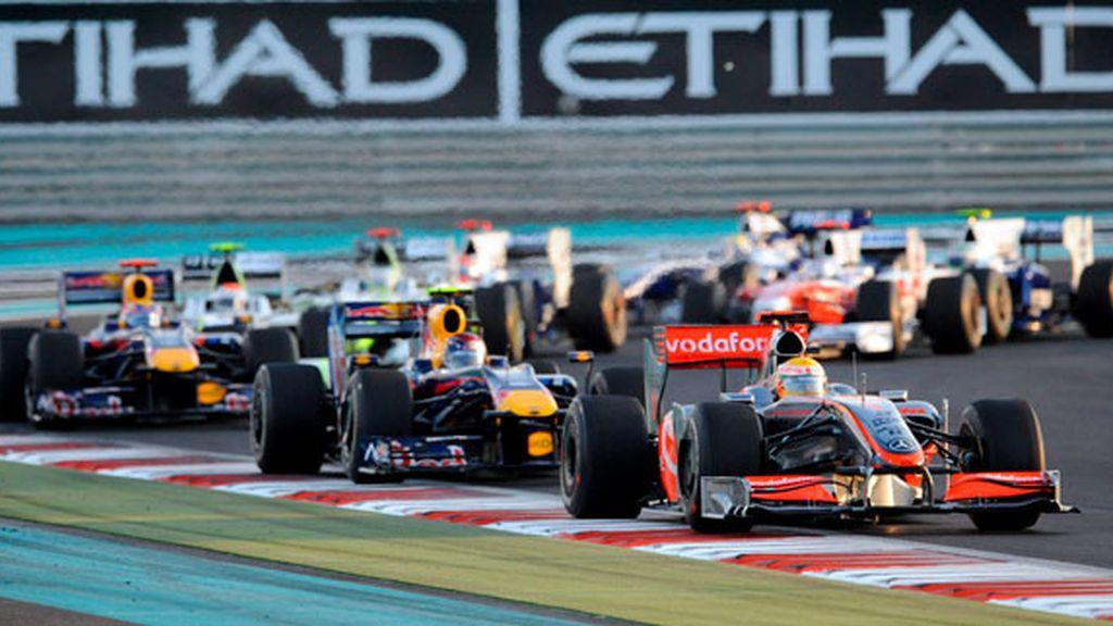 Hamilton encabez la carrera