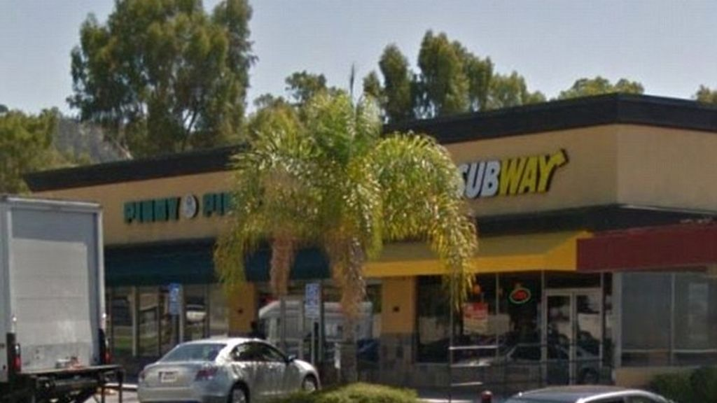 Restaurante Subway de Los Angeles