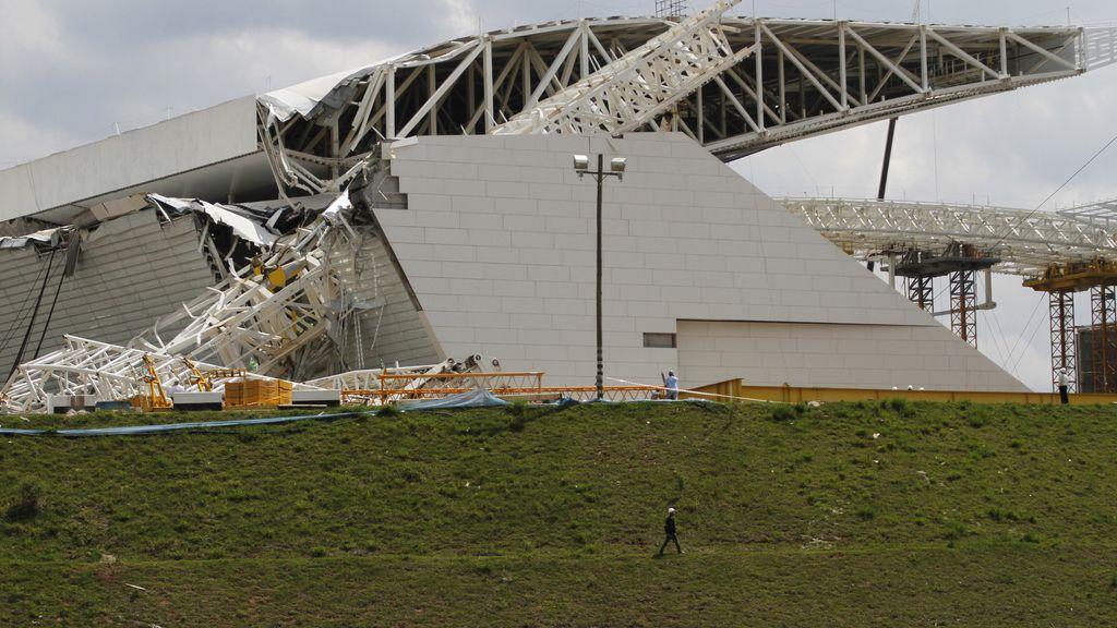 Un accidente en las obras del estadio de Sao Paulo provoca la muerte de tres trabajadores
