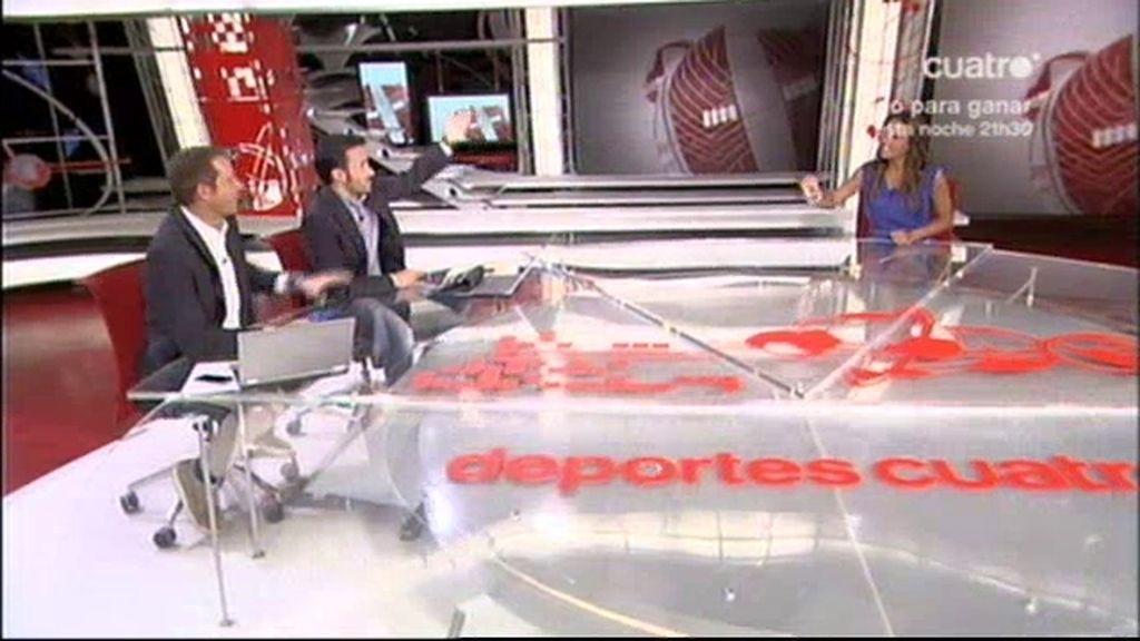 Lara Álvarez, nuevo fichaje de Deportes Cuatro
